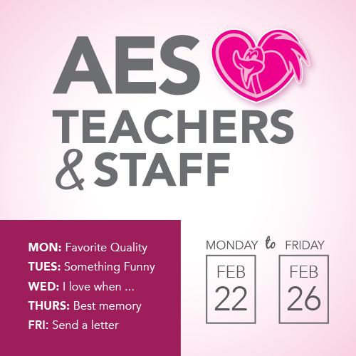 AES Loves Teachers & Staff